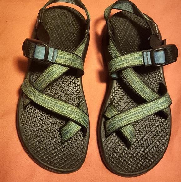 a25c28065745 Chaco Shoes - Chacos Women s size 7 blue green
